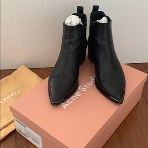 Acne Studios Jensen Grain bootie boots